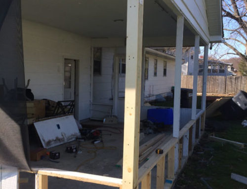 Porch Renovation Process